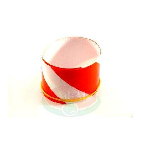 Taśma odblaskowa biało-czerwona 50x500 > Odblaski > Oświetlenie i elektryka
