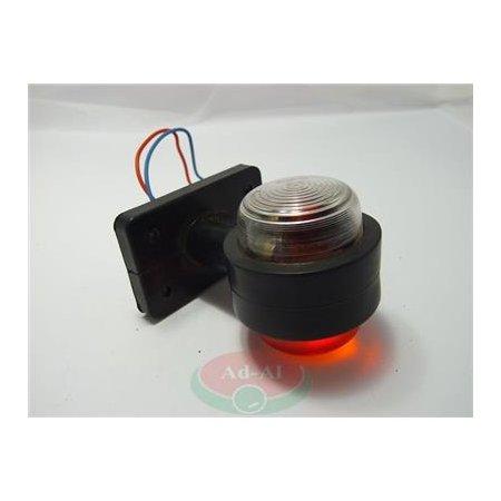Lampa obrysowa biało-czerwona JK-1 > Przyczepa > Części do maszyn rolniczych