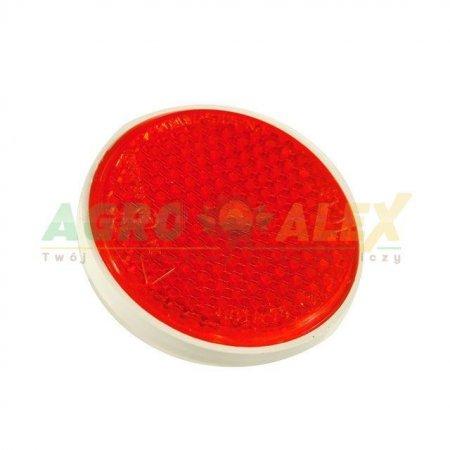 Urządzenie odblaskowe ze śrubą czerwone fi 75SC > Przyczepa > Części maszyn rolniczych
