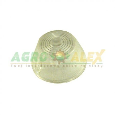 Klosz lampy obrysowej biały niski WE-92KB > Przyczepa > Części maszyn rolniczych