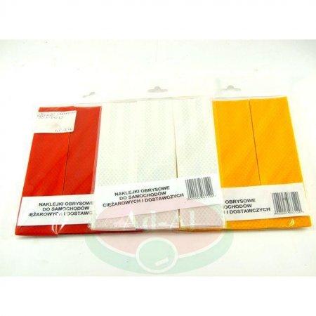 Naklejka odblaskowa obrysowa czerwona 50x200-16592 > Odblaski > Oświetlenie i elektryka