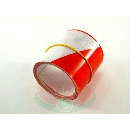 Naklejka odblaskowa biało-czerwona 70x1000-8932 > Odblaski > Oświetlenie i elektryka