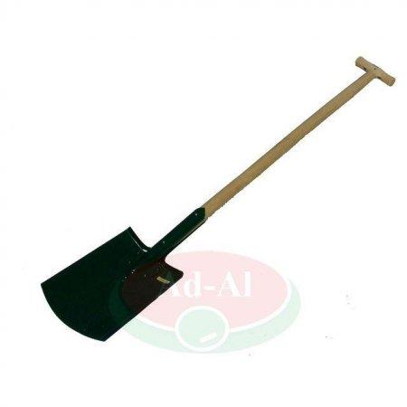 """Szpadel wzmacniany z drewnianym trzonkiem typ """"T"""" -16670 > Akcesoria ogrodnicze >"""