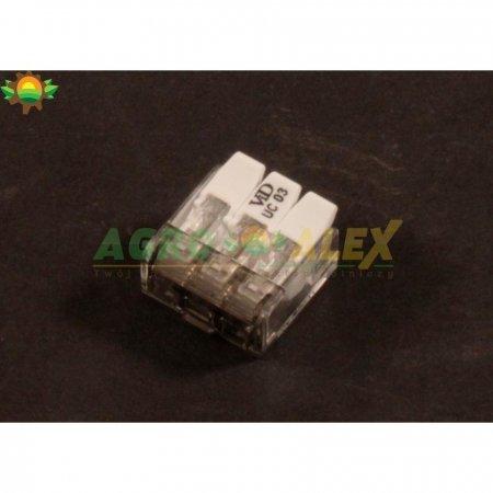 Szybkozłączka elektryczna 3 ot z zapadką SZYBLD3Z-18572 > Oświetlenie i elektryka >
