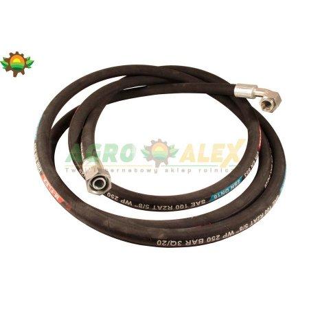 """Przewód hydr. 1x kolanko AA4500 M27x1,5/ 1/16"""" UNF-18607 > Przewody hydrauliczne > Hydraulika siłowa"""