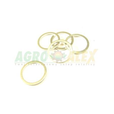 Podkładka aluminiowa 28x36x2 AL-19022 > Podkładki aluminiowe > Podkładki
