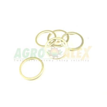 Podkładka aluminiowa 8x14x1,5 AL-19016 > Podkładki aluminiowe > Podkładki