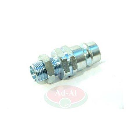 Szybkozłącze wtyczka M18x1,5 długa 9100 818W > Szybkozłącza > Hydraulika siłowa