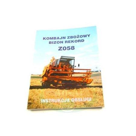 Instrukcja obsługi Bizon REKORD Z058 > Bizon > Części do kombajnów